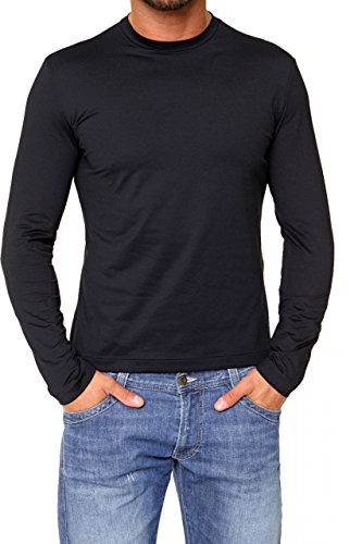 Mark Sailor Herren Shirt Langarmshirt Eli Schwarz