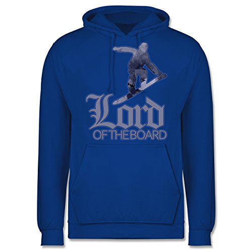 Wintersport - Lord of the board - Männer Premium Kapuzenpullover / Hoodie Royalblau