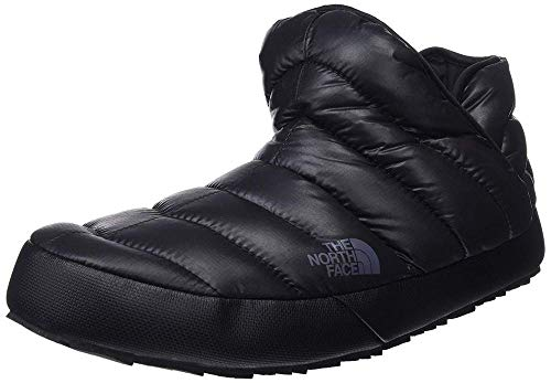 The North Face Thermoball Traction, Bottes de Neige Homme, Noir (Shiny TNF Black/Dark Shadow Grey Yxa), 42 EU