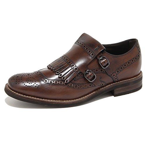 78793 scarpa TOD'S FRANGIA BUCAT. FONDO CUOIO GOMMA uomo shoes men Marrone