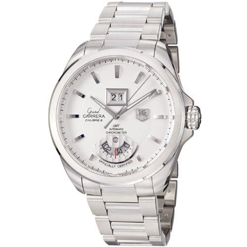 TAG Heuer Grand Carrera - Reloj (Reloj de pulsera, Masculino, Acero, Acero inoxidable, Acero, Acero inoxidable)