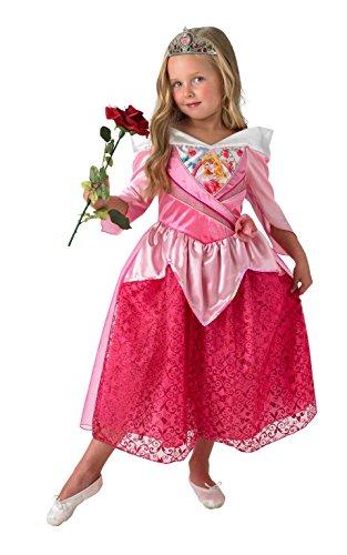 Sleeping Beauty - Shimmer Dress - Disney Princess - Childrens Costume - Small - 104 centimetri