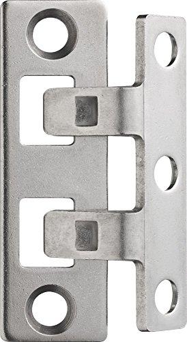 ABUS Scharnierseitensicherung TAS102, edelstahl, 24535
