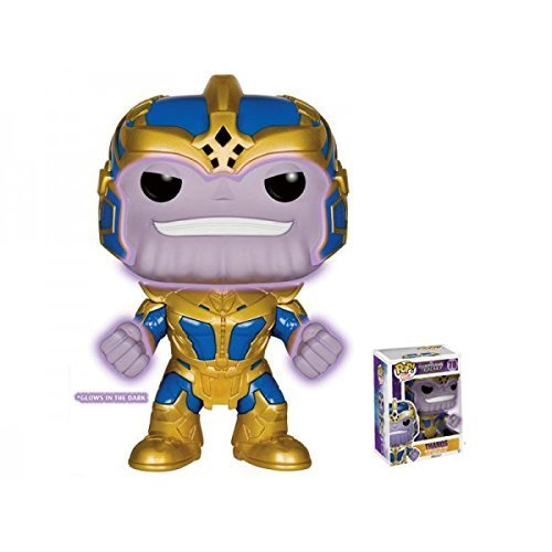 Funko - Figurine - Guardians of The Galaxy - Thanos Glow in The DORK Pop 15cm - 0849803057398