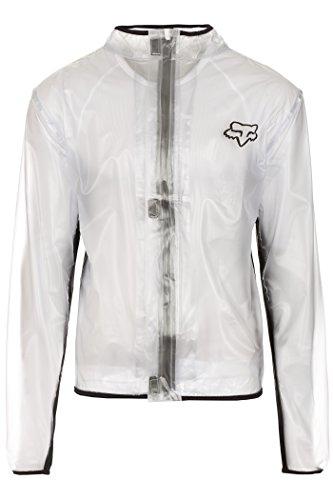 Fox MX Fluid Jacket Men clear Größe M 2017 Wasserdichte Jacke