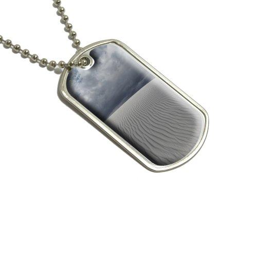 White Sands National Monument Nm–Dünen Militärische Erkennungsmarke Gepäck Schlüsselanhänger (Sands Army White)