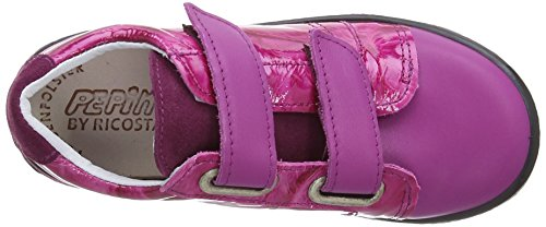 Ricosta Niddy, Chaussures bateau fille Rose (Pop Pink)