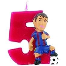 Figura Vela Barça 5 Messi