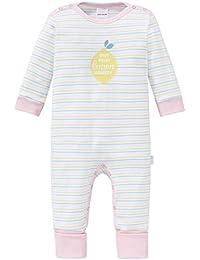 Schiesser Baby - Mädchen Schlafanzug Einteiler Anzug mit Vario Fuß - 161244