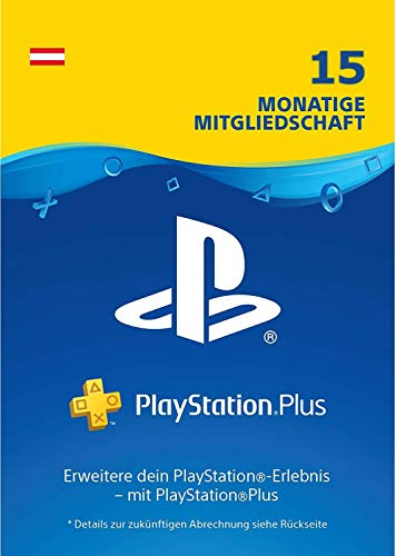 Prime Day Angebot: PlayStation Plus Mitgliedschaft: 15 Monate | PS4 Download Code - österreichisches Konto