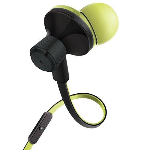 Ergonomische Kopfhörer mit Mikrofon für Samsung Galaxy J5 A5 S7 Huawei P8 P9 lite Google Nexus 5X Samsung Galaxy Xcover Motorola Moto G und mehr