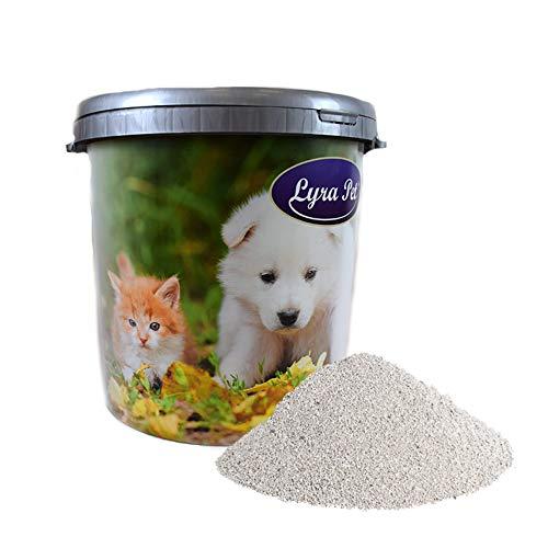 Lyra Pet 30 L Cats Power Ultra Excellent Katzenstreu Babypuder Duft +30 L Tonne