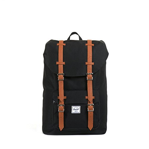 Herschel - Sac à dos Little America Mid Vol (10020) taille 45 cm blacktan