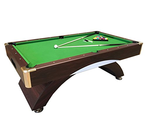 Billardtisch 8 ft Billard Billard-Spiel Messung 220 x 110 cm neue grün Leonida verpackt Kostenloser Versand verfügbar grün