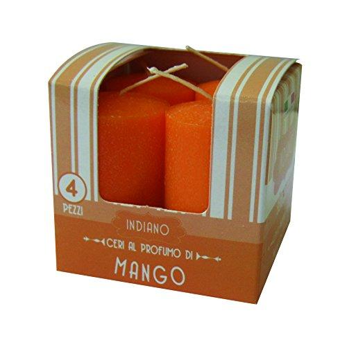 Cereria de Giorgio Melrose ceretti perfumadas, Cera, Naranja, 3x 3x 5.5cm, 4Unidad