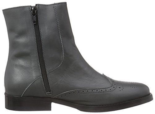 Mentor Mentor Brogue Boot, Bottes Classiques femme Gris (grey Leather)