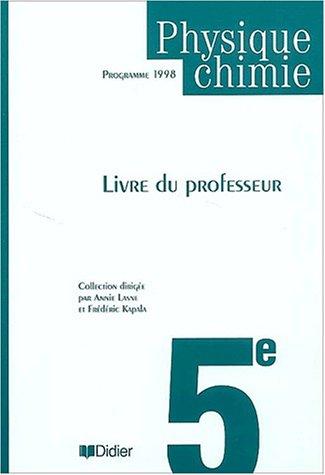 Physique 5ème (guide pédagogique)