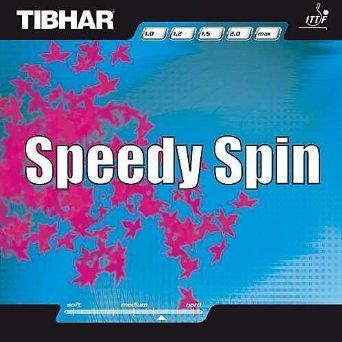 Tibhar TT Revêtement Speedy Spin 1,8mm Rouge