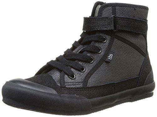 tbs-onelia-zapatillas-de-deporte-de-cuero-para-mujer-negro-negro-40