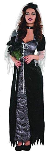 Enter-Deal-Berlin Damen KOSTÜM - BÖSE Braut - Größe 36/38 (M)
