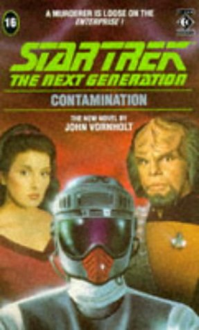 Cover of Contamination (Star Trek: The Next Generation 16)
