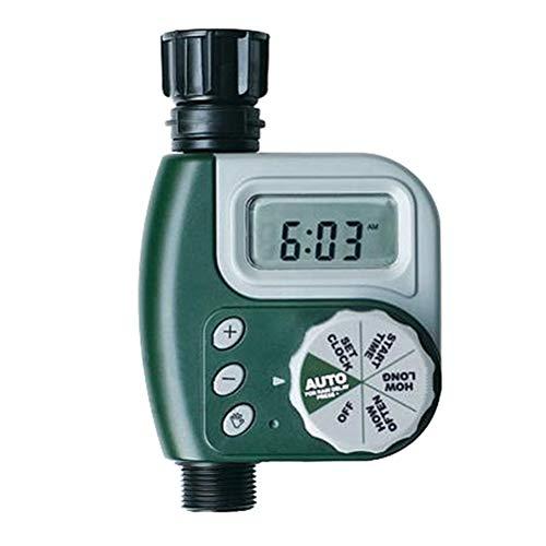 Yardwe Automatischer elektrischer Gartenbewässerungstimer Schlauch-Timer Bewässerungszeitgeber Keine Batterie im Lieferumfang des EU-Steckers enthalten