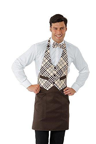 Robinson - Grembiule da chef marrone marrone taglia unica