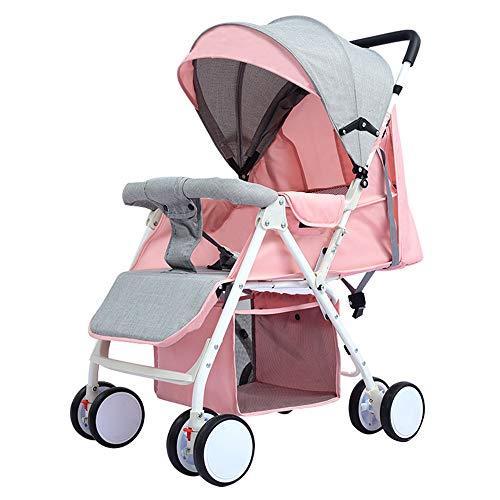 Kaysa-TS Kinderwagen, leicht Falten leicht zu tragen stoßfest Babywagen, Baby Travel System tragen 30kg, von der Geburt bis 3 Jahre alt Baby (Baby-baby System Travel)