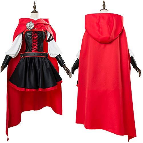 Cosplay roten Kleid Mantel Schlacht uniform kostüm