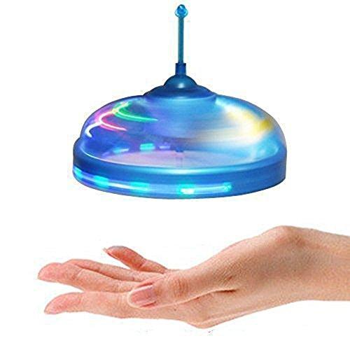 efanr Kids Toys Mini Infrarot Sensor Flying Disc Untertasse UFO Hand Induzierte Schwebe und schwimmende Flight Hand Bewegungen Spielzeug mit LED-Lichter Magic Trick Spielzeug Suspended Hubschrauber Sensor Frisbee (Licht-t-shirt 5)