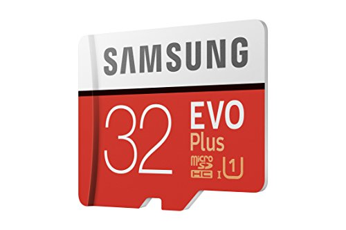 Samsung EVO Plus   Tarjeta de memoria de 32 GB con adaptador SD (95 MB/s  U1)