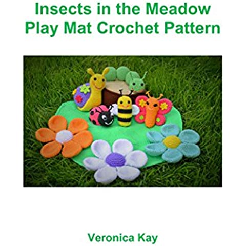 Insects in the Meadow Play Mat Crochet Pattern (English Edition)