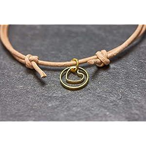 Armband Herz Circle Freundschaftsarmband Liebe Lederarmband…