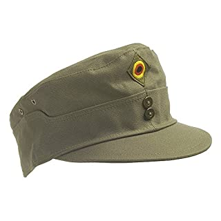 Original field cap of the German Bundeswehr TL color Flecktarn, olive or Tropentarn sizes 56-63 (59, Olive)