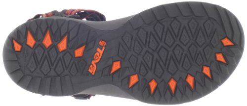 Teva W Terra Fi Lite, Sandales femme Rouge (Zipper Red Orange)