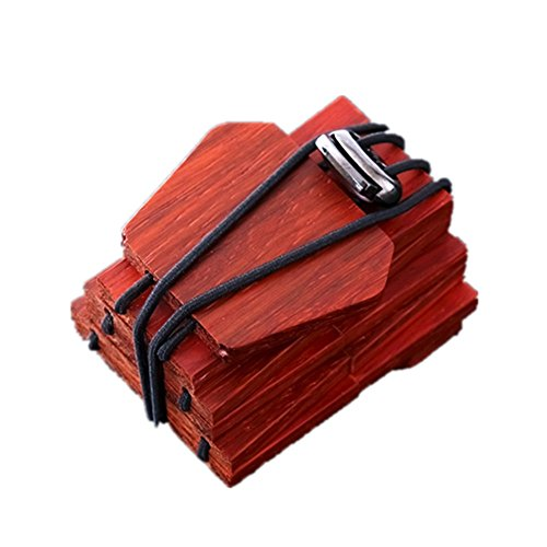 Tie Freizeit Mens Tie Natural Fashion Holz Krawatte Grün Freizeit Holz Krawatte Rot Massivholz Krawatte