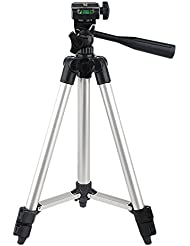 Elitehood Aluminum Lightweight Tripod And Universal Smartphone Mount ,Bluetooth Remote with Carrying Bag