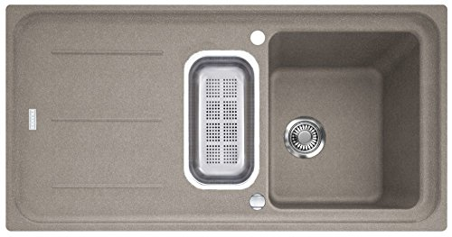 Preisvergleich Produktbild Franke Impact G IMG 651 G Cashmere Fragranitspüle Grau Auflagespüle Küchenspüle