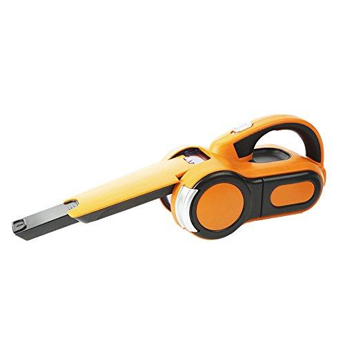 Multifuncional Coche Y Hogar Seco Húmedo Aspiradora Dual Portátil Aspiradora De Mano Con Cable, Naranja
