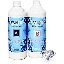 Resina epoxi, Ultra transparente 2-K kg1,6 con B-Super transparente