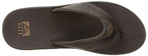 Reef Fanning, Tongs Homme Marron (Brown)