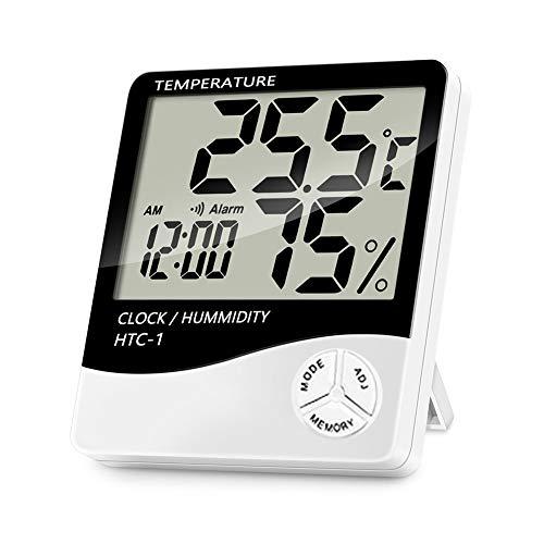 FafSgwq Temperatura Interior Medidor De Humedad Termómetro
