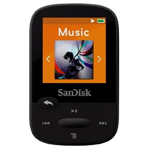 Lecteur MP3 SanDisk Clip Sport 8Go - Noir
