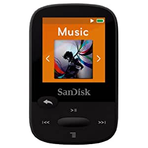 SanDisk 16GB Clip Sports MP3 Player - Black
