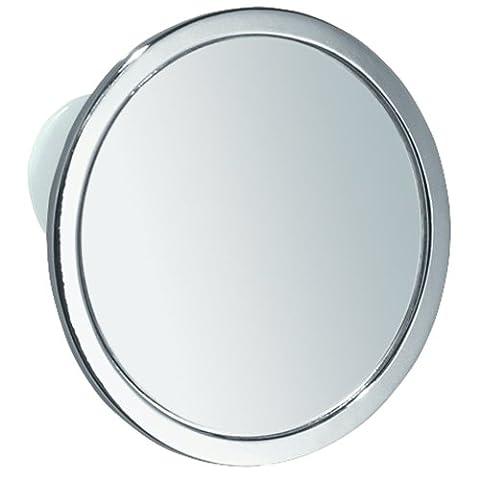 InterDesign Gia, Miroir de rasage à ventouse anti-buée pour la
