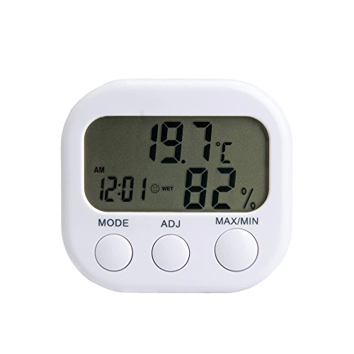 yongse-thermo-hygrometer-mit-innentemperatur-luftfeuchtigkeit-zeiger-und-uhr-2-stucke