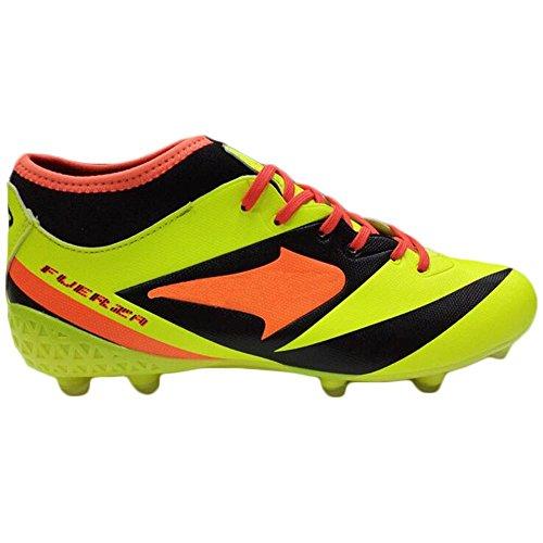 Mr. LQ - Adulti combattimento scarpe e formazione scarpe calcio giovanile Yellow