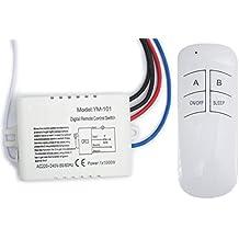 Interruttore con telecomando 220v - Interruttore sonoro ...
