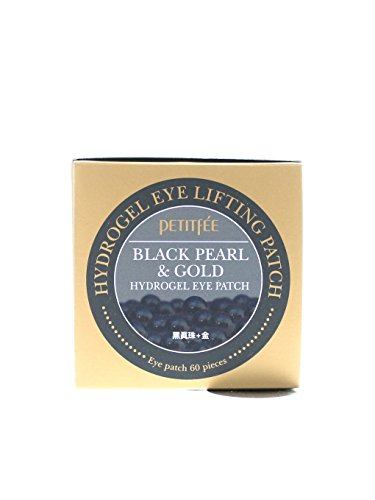 Black Pearl & Gold Hydrogel Eye Patch (60 sheet) by PEITIFEE