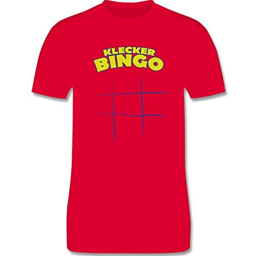 Küche - Klecker - Bingo - Herren Premium T-Shirt Rot